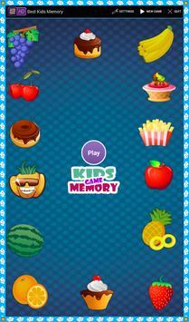 Best Kids Memory Games poster
