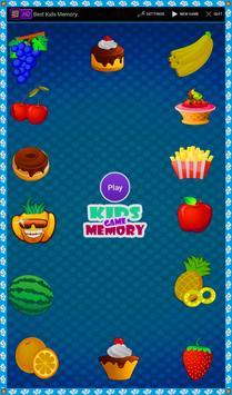 Kids Memory poster