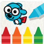 Kids Coloring Game — Russpuppy icon