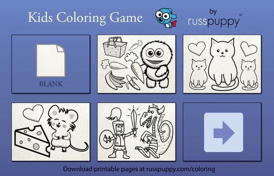 Kids Coloring Game — Russpuppy screenshot 5