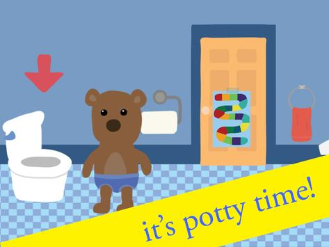 Potty Training Game poster