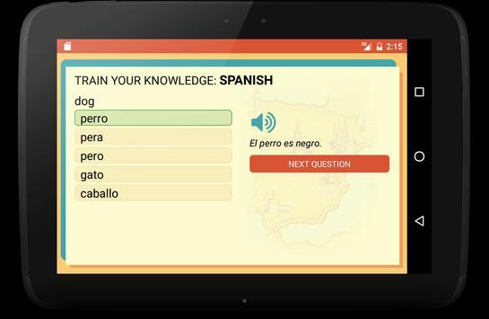 Spanish Trainer screenshot 11