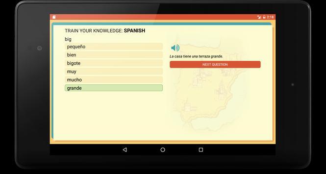 Spanish Trainer screenshot 12