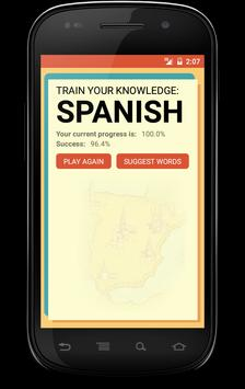Spanish Trainer screenshot 4