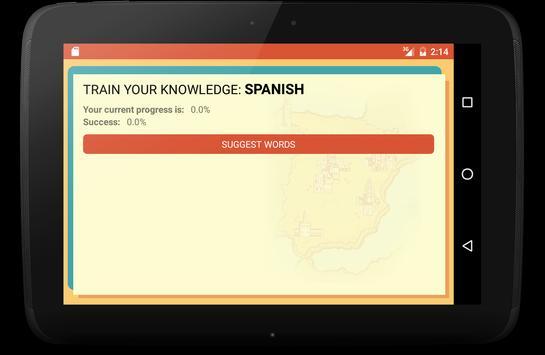 Spanish Trainer screenshot 9