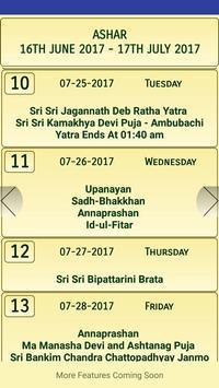 Bengali Calendar-Panjika 1424 apk screenshot