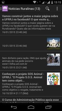 Minha Rural - App da UFRRJ apk screenshot