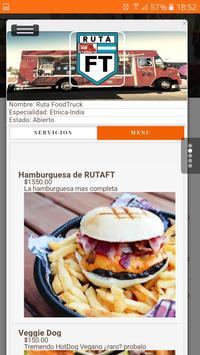 Ruta FoodTruck apk screenshot