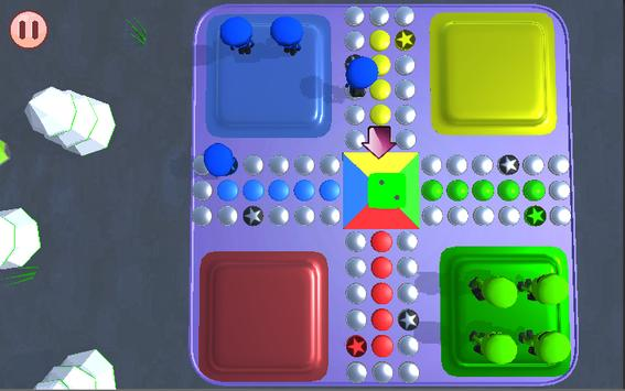 Ludo 3D maharajah screenshot 2