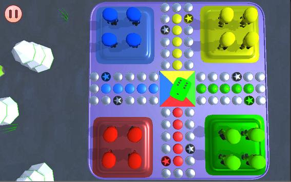 Ludo 3D maharajah screenshot 3