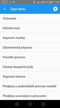 Autoškola testy 2018 apk screenshot