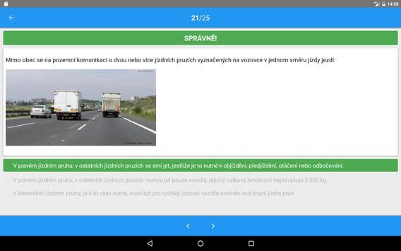 Autoškola testy 2018 screenshot 7