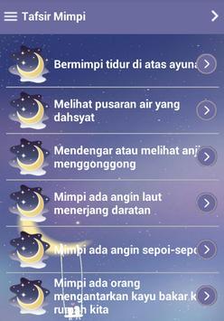 Arti Mimpi Offline Poster Arti Mimpi Offline Apk Screenshot