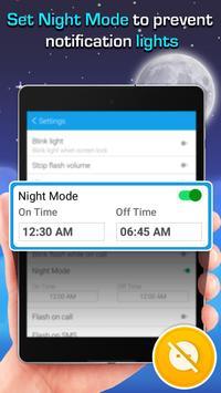 Alertas Flash LED: llamada/SMS captura de pantalla 10