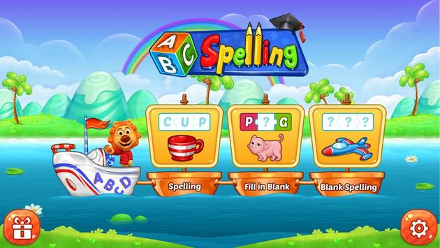 ABC Spelling captura de pantalla 6