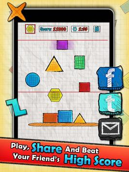 Doodle Tower - Stack The Shape apk screenshot