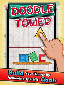 Doodle Tower - Stack The Shape poster