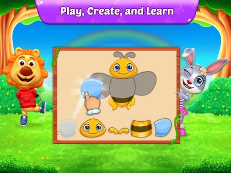 Puzzle Kids - Animals Shapes and Jigsaw Puzzles APK
