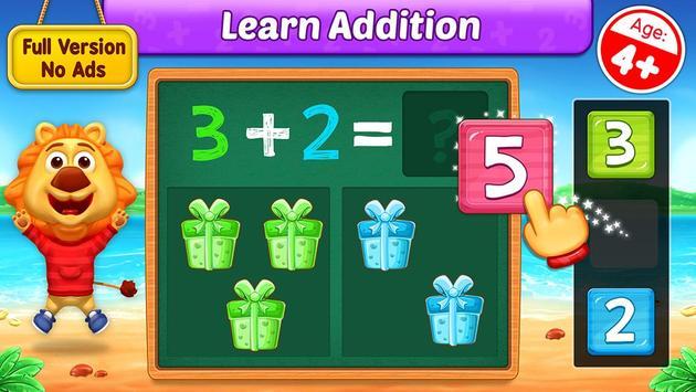 Math Kids الملصق