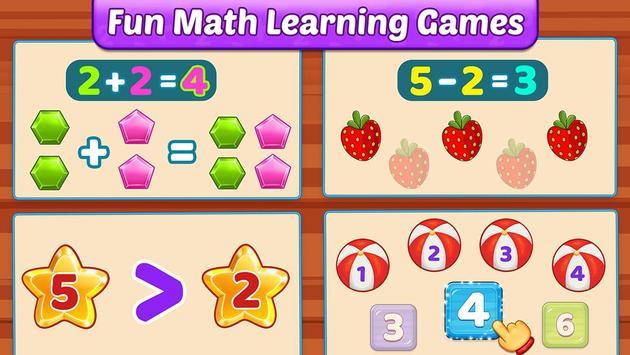 Math Kids تصوير الشاشة 4