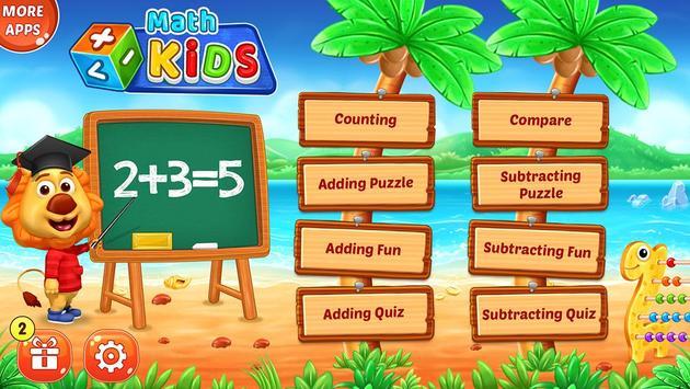 Math Kids تصوير الشاشة 6