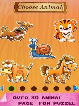 Animal JigSaw For Kids apk screenshot