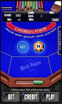 RVG Caribbean Poker screenshot 1