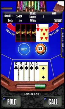 RVG Caribbean Poker screenshot 2