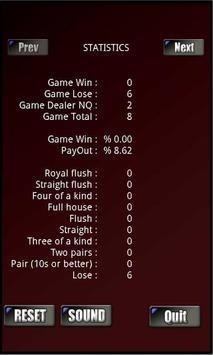 RVG Caribbean Poker screenshot 4