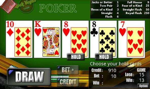 RVG Video Poker apk screenshot