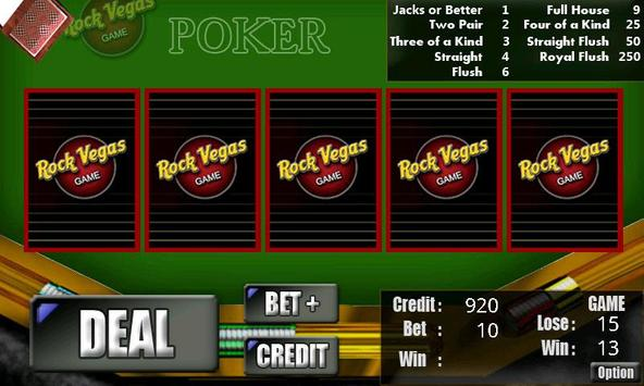 RVG Video Poker poster