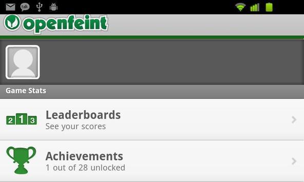 RVG Poker - OpenFeint screenshot 1