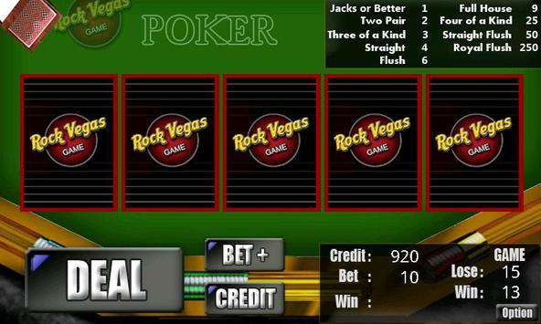 RVG Poker - OpenFeint screenshot 3