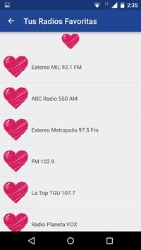 Honduras Radio Station apk screenshot