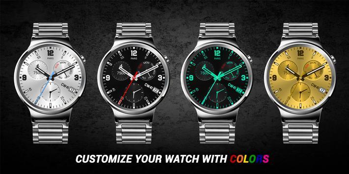 Chameleo Free Watch Face apk screenshot
