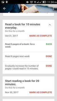 Thrive Goals Journal screenshot 3