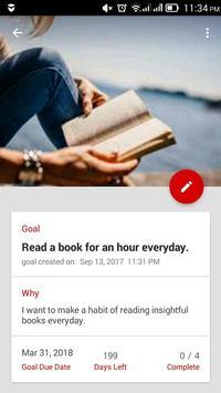 Thrive Goals Journal screenshot 1