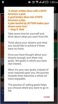 Thrive Goals Journal screenshot 5