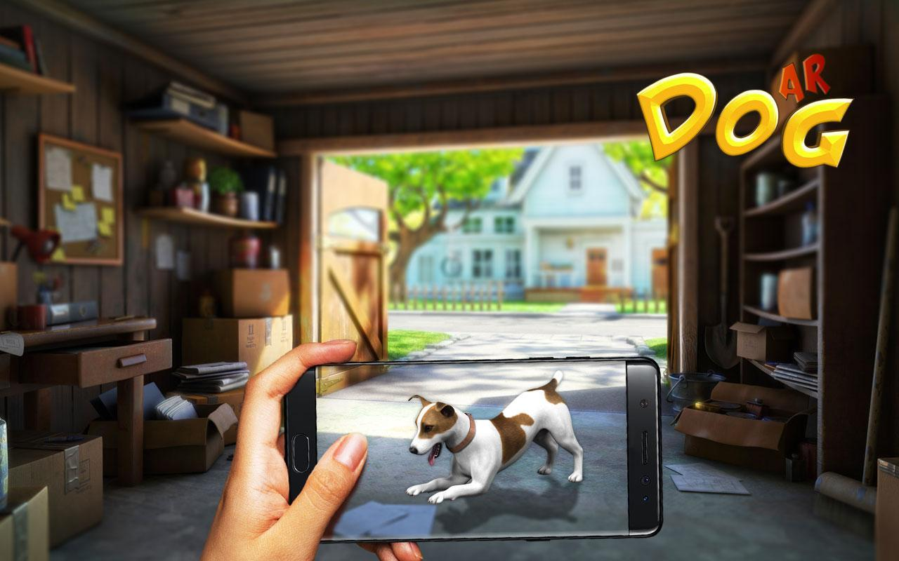 AR Pet Dog : Arugemted Reality Pet Simulator for Android