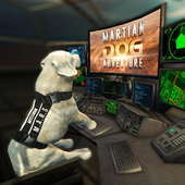 Space Dog Game : Travel to mars to explore icon