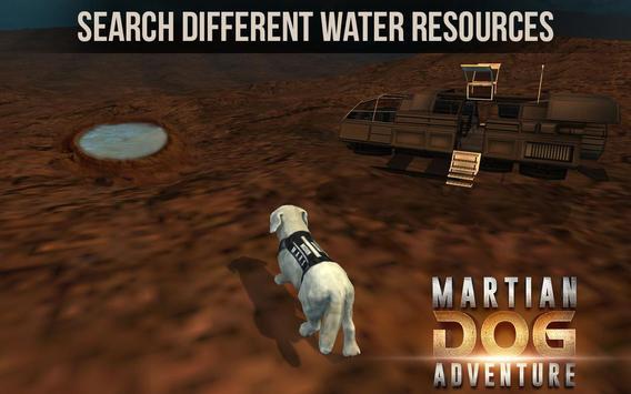 Space Dog Game : Travel to mars to explore screenshot 3