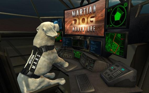 Space Dog Game : Travel to mars to explore poster