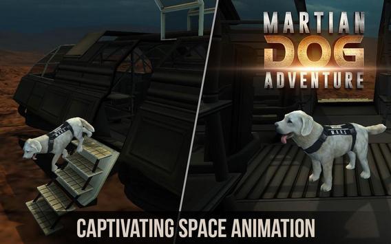 Space Dog Game : Travel to mars to explore screenshot 1