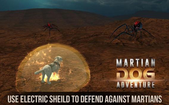 Space Dog Game : Travel to mars to explore screenshot 5
