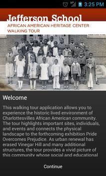 Jefferson School Walking Tour poster