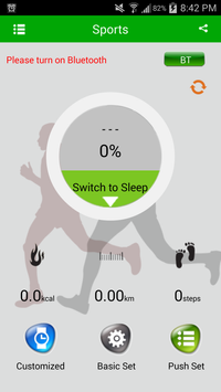 iPanda® SmartWatch for Android poster