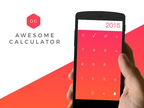 Awesome Calculator poster