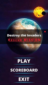 Destroy the Invaders poster