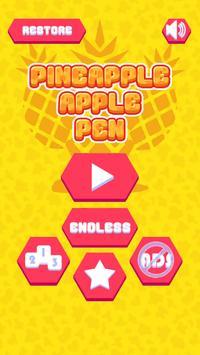Shoot a Pineapple Apple Pen apk screenshot