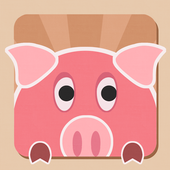 Flying  Piggy icon